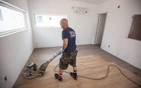 flooring hardwood floor sanding andng denville nj prep for stain