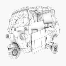 bajaj jakarta rickshaws