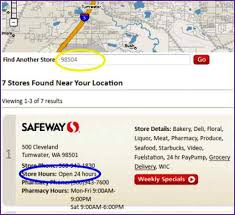 safeway thanksgiving store hours