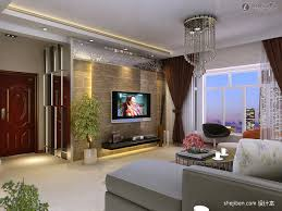 chic tv wall decoration for living room for home interior design