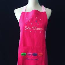 tablier cuisine personnalisé tablier de cuisine personnalisé maman et torchon