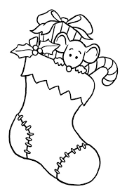 christmas stockings coloring pages free christmas stockings