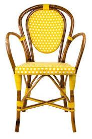 Grey Bistro Chairs Grey U0026 White Mediterranean Bistro Round Back Chair Chevron