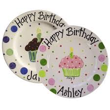 personalized birthday plate personalized birthday plates all things cupcake