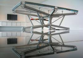 what why a see through glass pool table geekologie