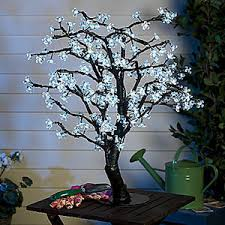 lighted tree home decor home office