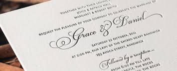 Classic Wedding Invitations Grace Classic And Elegant Wedding Invitation Design By Deciduous