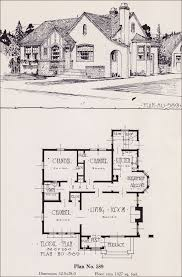 English Cottage Designs by 1926 Universal Plan Service No 589 English Tudor Style