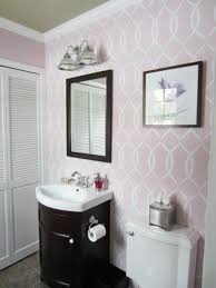 bathroom wall stencil ideas 248 best color me pink images on cutting edge