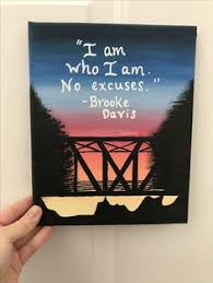 one tree hill quote canvas a wish bridge painting quote