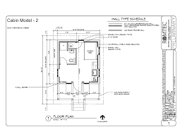 cabins romtec inc floor plan of multi room cabin