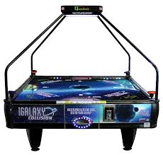 hockey time air hockey table multiplayer air hockey table for 2 3 or 4 people to play at the