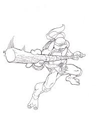 teenage mutant ninja turtles coloring pages donatello coloring