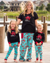 matching family pajamas for lazy one