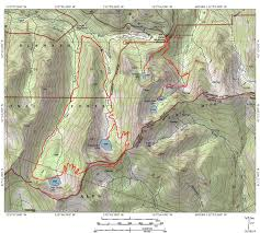 Alps Mountains Map Trinity Alps Trails In The Carter Meadow Area Hike Mt Shasta