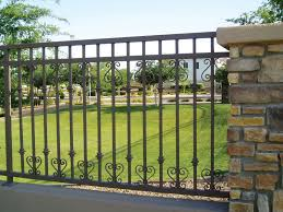 Decorative Outdoor Fencing Decorative Garden Fencing Minimalist And Elegant Decorative