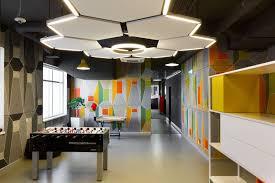 Office Canteen Design Inside Ok Ru U0027s Stylish Saint Petersburg Office Officelovin U0027