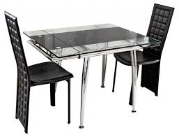 dining square glass dining table compact folding tables and