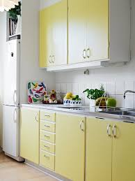 yellow kitchen cabinet cute little kitchen love the colour of the cabinets for the