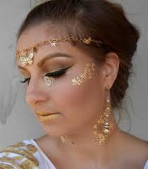 gold halloween makeup oktober 2015 taya u0027s blog