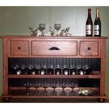 Oak Wine Cabinet Sale Oak Wine Rack Console Table Steward Furniture Black Wood