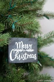 diy chalkboard sign ornaments ornament hop a houseful of