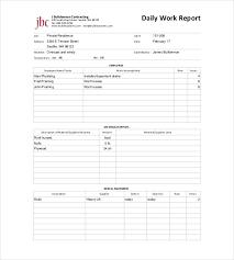sample daily report 12 research progress report sample cfo