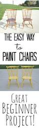 Best Paint For Outdoor Wood Furniture How To Paint Chairs The Easy Way U2014 Decor And The Dog