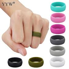 jewelry rubber rings images Multicolor size 6 12 hypoallergenic crossfit flexible rubber band jpg