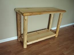 log artistry log living room tables coffee table sofa table
