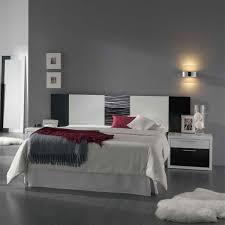 mobilier chambre contemporain chambre a coucher interieur design lit blanc mattrass multicolore