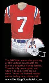 new england patriots uniform and team history heritage uniforms
