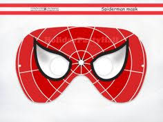 printable spider man birthday party hats kid party ideas