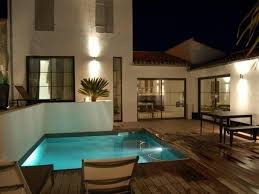 chambre d hotes la flotte en ré villa ile de re villa d architecte contemporaine piscine chauffée