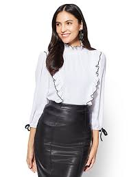Black Blouses For Work New York U0026 Company Online Exclusives