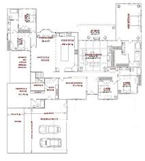 one story open house plans baby nursery house plans one story open concept one story open