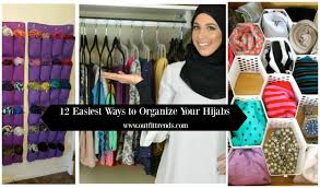 Organize Wardrobe by 12 Great Ideas For Organizing Hijab For Every Day Routines