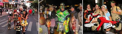 Hawaiian Halloween Costume Lahaina Halloween Party Front Street Maui Hawaii