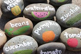 Painted Rocks For Garden by Garden Markers U2013 A Smith Of All Trades