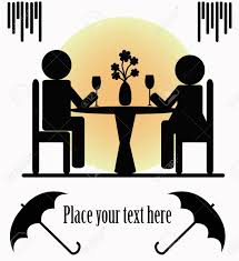 dinner silhouette dinner for two clip art u2013 cliparts