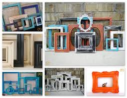 old picture frames decorating ideas here are some empty vintage