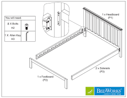 How To Assemble A Bed Frame Do It Yourself How To Assemble Your Bedworks Custom Timber Bed Frame