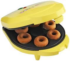 baby cakes maker review babycakes dn 6 mini doughnut maker yellow 6 donut