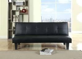 Oregon Sofa Bed Oregon Black Faux Leather Sofa Bed Ezhandui