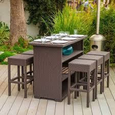 Outdoor Furniture Small Space Stunning Design Narrow Patio Table Good Looking Small Space