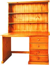 Pine Desk With Hutch Pine Desk And Hutch Desk Design Ideas