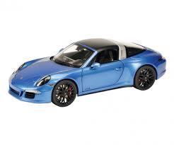 blue porsche porsche 911 targa 4 gts blue metallic 1 18 edition 1 18 car