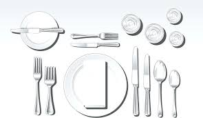 how to set a table with silverware proper table setup setting a table with silverware surf collection
