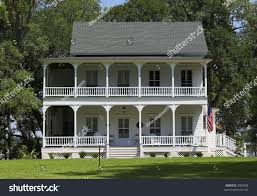 federal style house southern federal style home exterior view stock photo 3305958