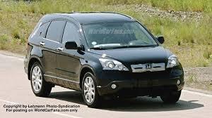 honda jeep 2007 more 2007 honda cr v spy photos